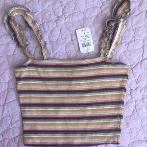 NWT Windsor Striped Cami Top